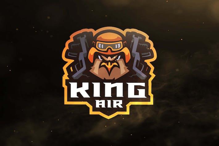 Thumbnail for King Air Sport and Esports Logos