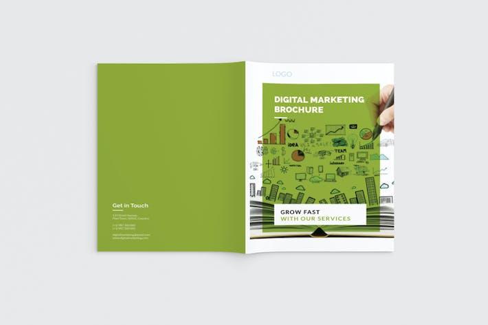 Thumbnail for DigiKit - A4 Marketing Brochure Template