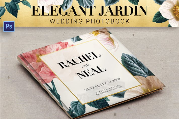 Thumbnail for Elegant Jardin Wedding Photobook