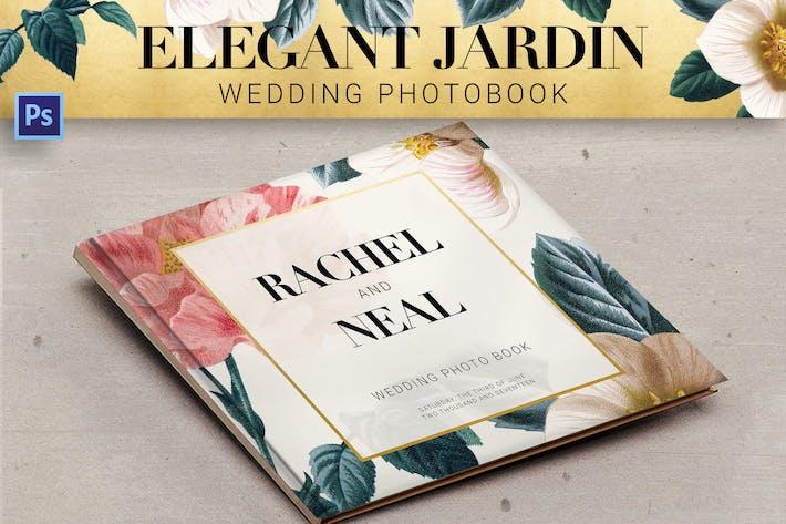 Thumbnail for Элегантная свадебная фотокнига Jardin