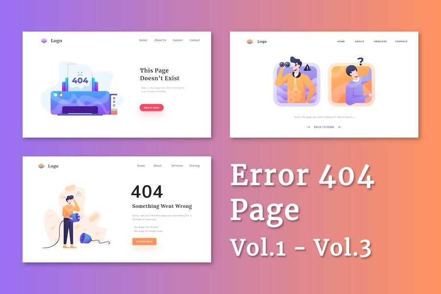 Error 404 Page Vol.1 - 3
