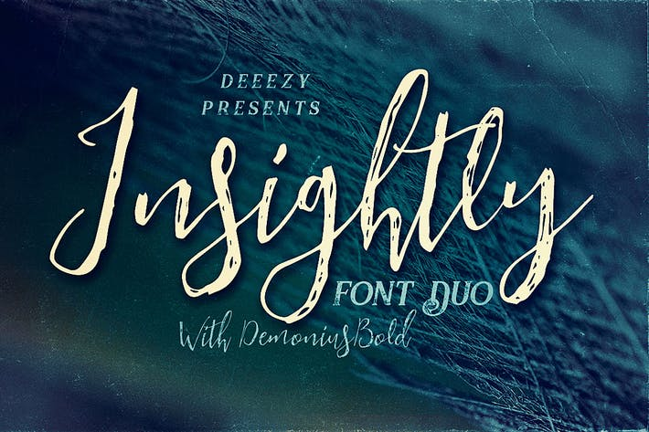 Thumbnail for Insightly Font Duo