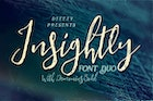 Insightly Font Duo