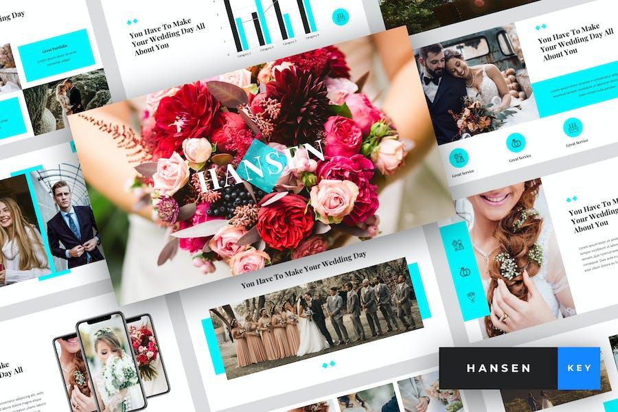 Hansen - Wedding Keynote Template