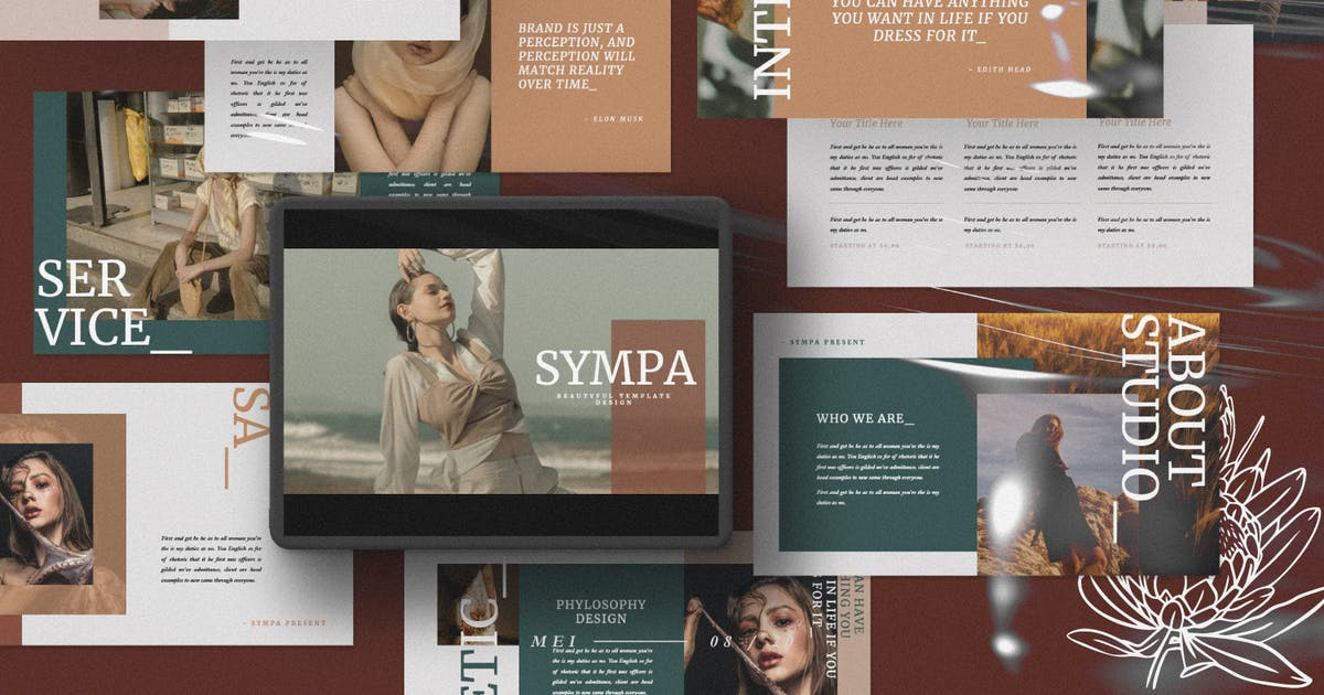 Download Sympa Keynote Presentation Template by templatehere