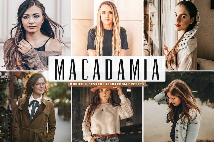 Thumbnail for Macadamia Mobile & Desktop Lightroom Presets
