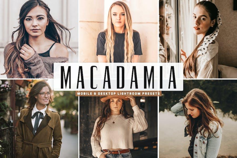 Macadamia Mobile & Desktop Lightroom Presets