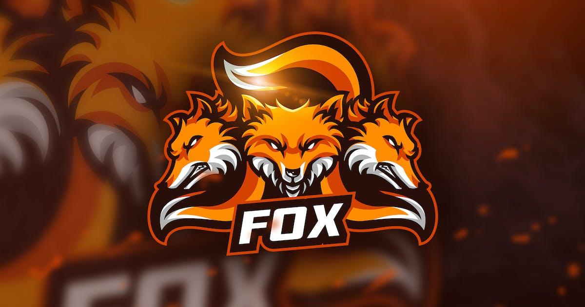 Download Three Fox - Mascot & Esport Logo by aqrstudio