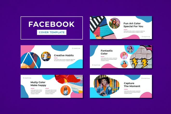 Cover Image For Facebook Cover Template Creative Agency
