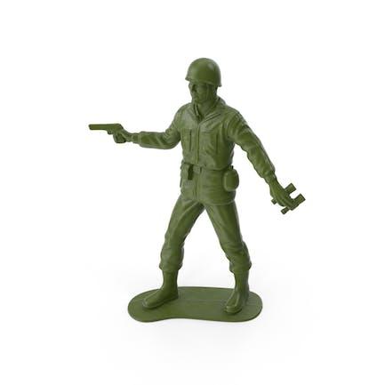 Пластиковый солдат