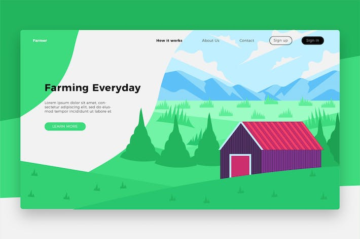 Thumbnail for Farming Everyday Banner & Landing Page