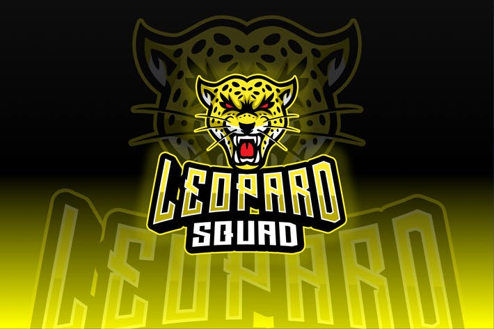 Thumbnail for Leopard Sport and Esport Logo Template