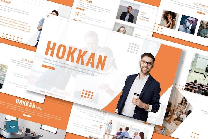 Thumbnail for Hokkan - Business Keynote Template