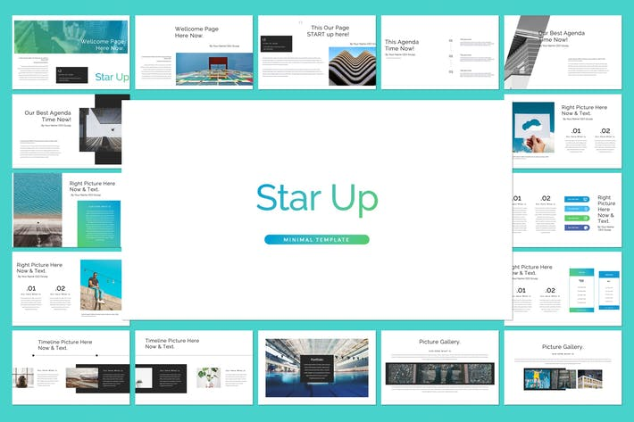 Thumbnail for Star Up Google Slide Template