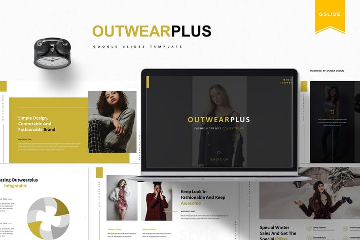 Thumbnail for Outwearplus | Google Slides Template