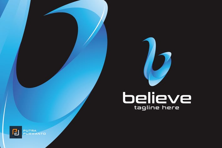 Thumbnail for Believe / B - Logo Template