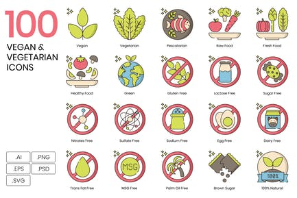 Vegane Icons