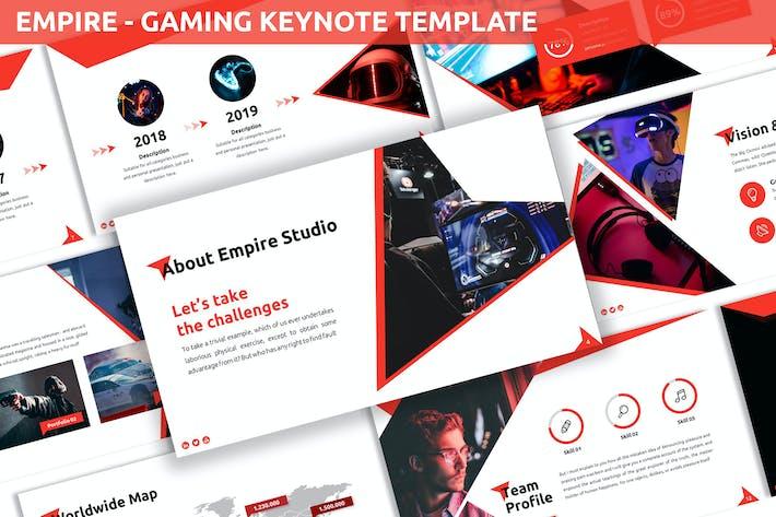 Empire - Gaming Keynote Template