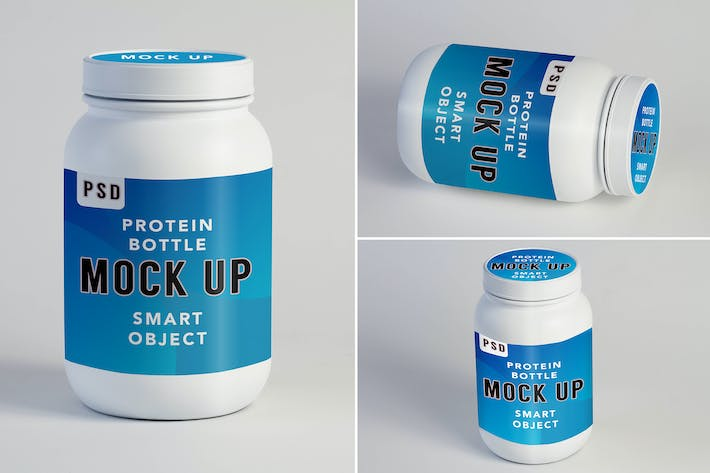 Cover Image For Protein Shake Mock Up