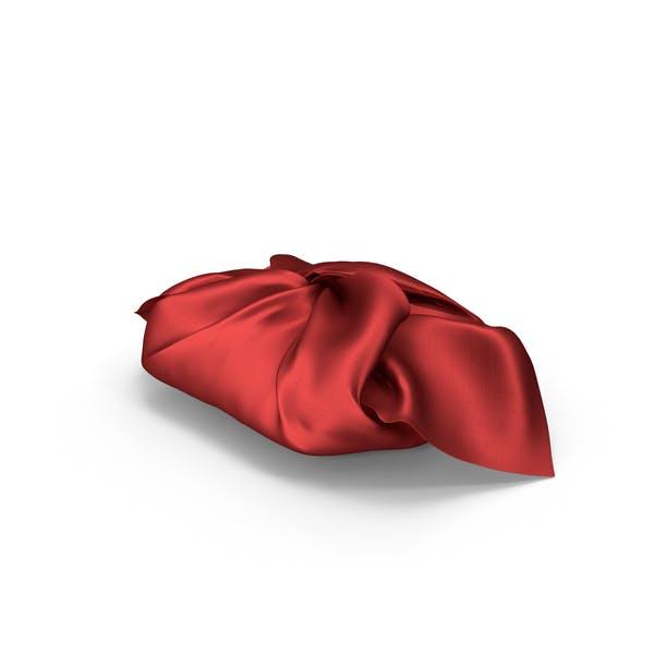 Подарок красной тканью