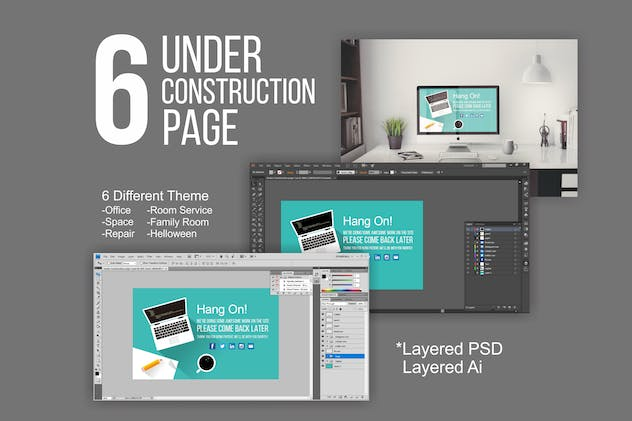 6 Under Construction Pages