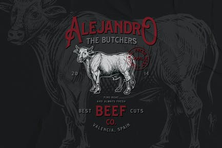 Butchery Badge No.1
