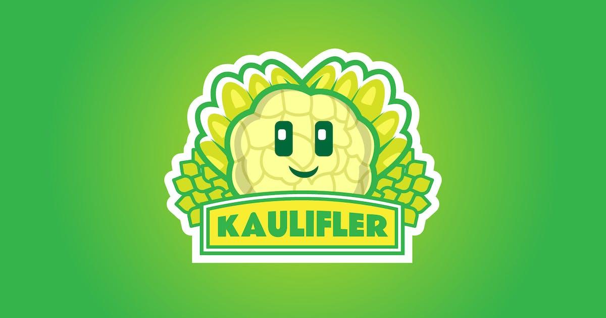 Download cauliflower - Mascot Logo by aqrstudio