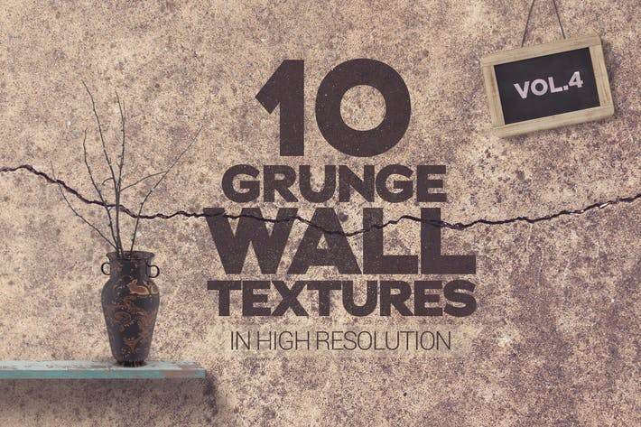 Thumbnail for Grunge Wandtexturen Vol 4 x 10