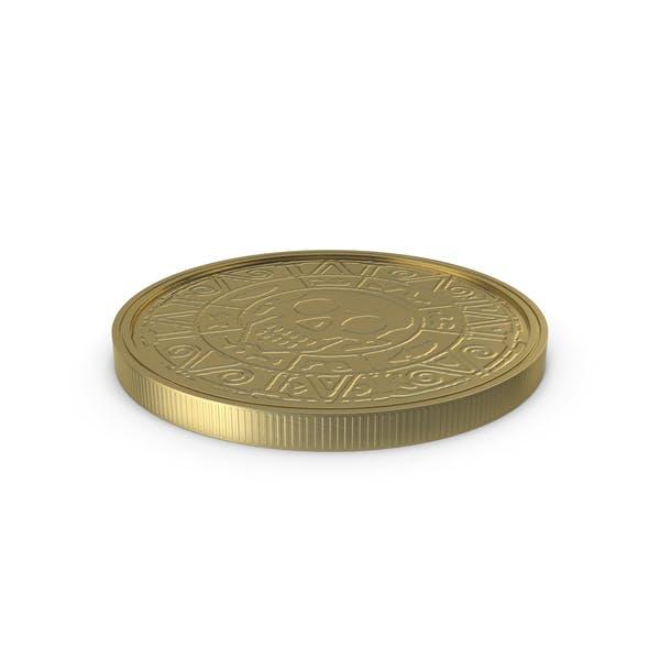 Moneda de Oro Lay Limpio