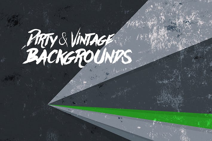 Thumbnail for Dirty & Vintage Flat Rays Backgrounds