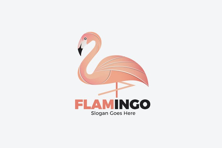 Thumbnail for Flamingo Animal Logo