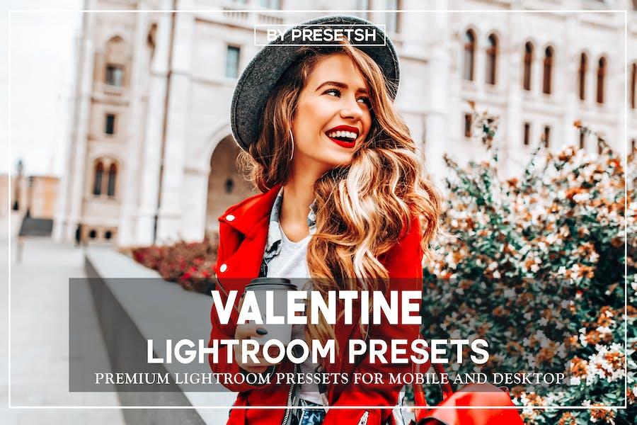 valentine's day lightroom presets