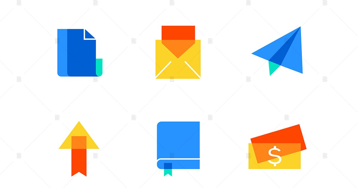 Download Business and marketing - flat design style icons by BoykoPictures