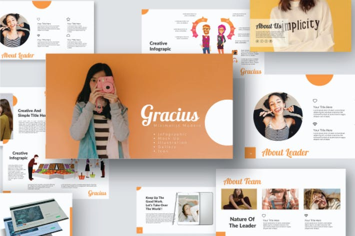 Thumbnail for Gracius Powerpoint Template