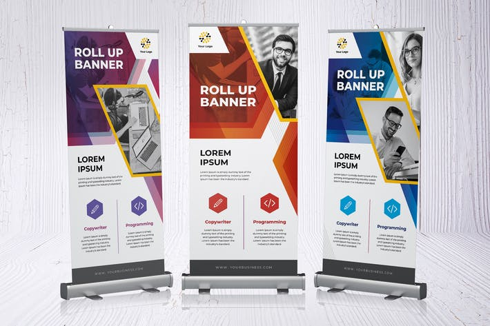 Thumbnail for Roll Up Banner Business Promotion