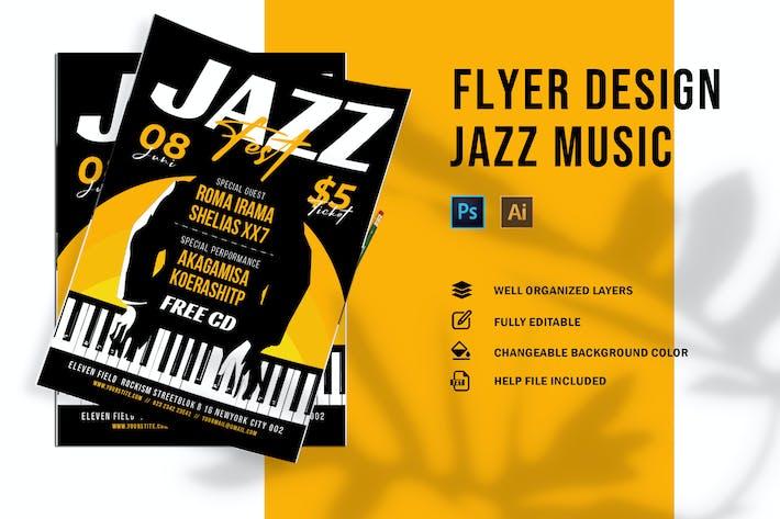 Thumbnail for Jazz Music | Flyer