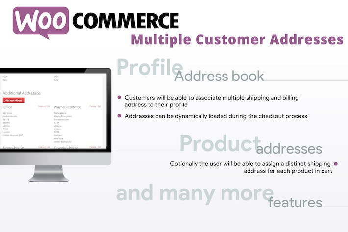Thumbnail for WooCommerce Multiple Customer Addresses
