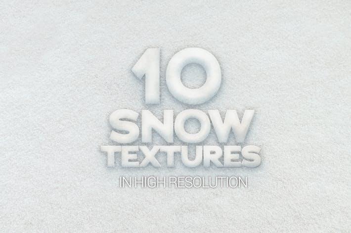 Schnee-Texturen x10