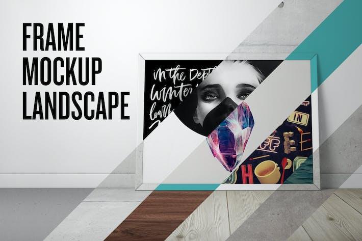 Thumbnail for Frame Mockup - Landscape