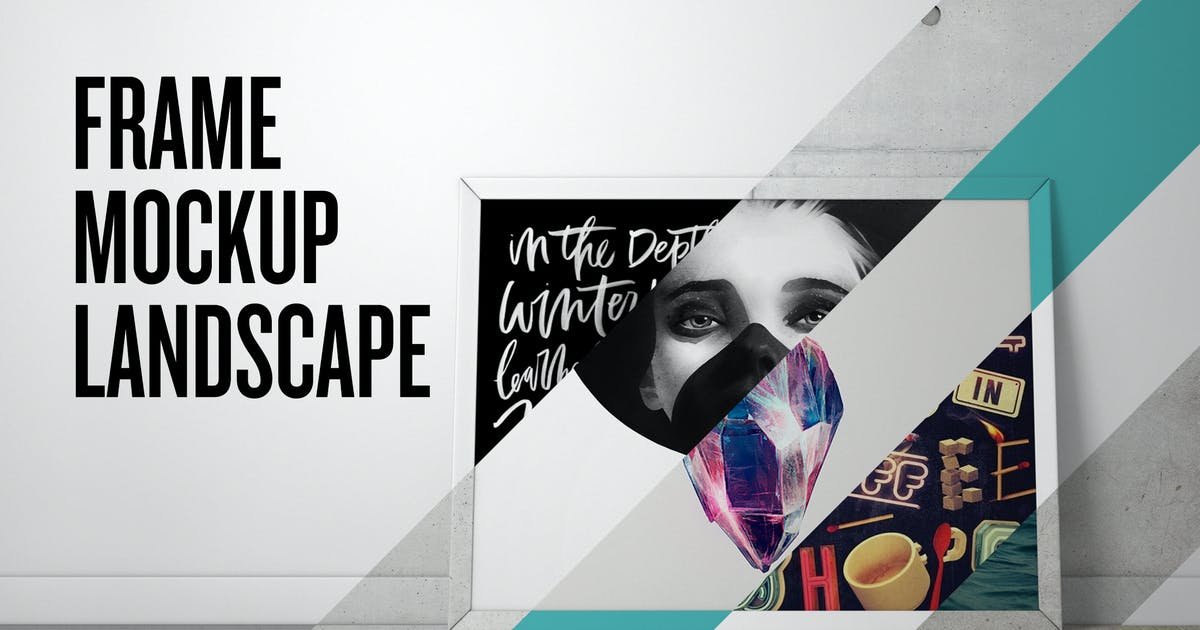 Download Frame Mockup - Landscape by Unknow