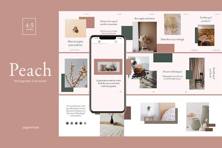 Peach Instagram Carousel