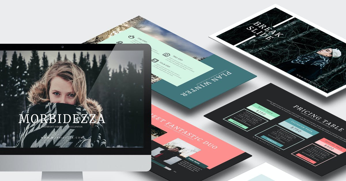 Morbidezza :  Winter Powerpoint Template by Unknow