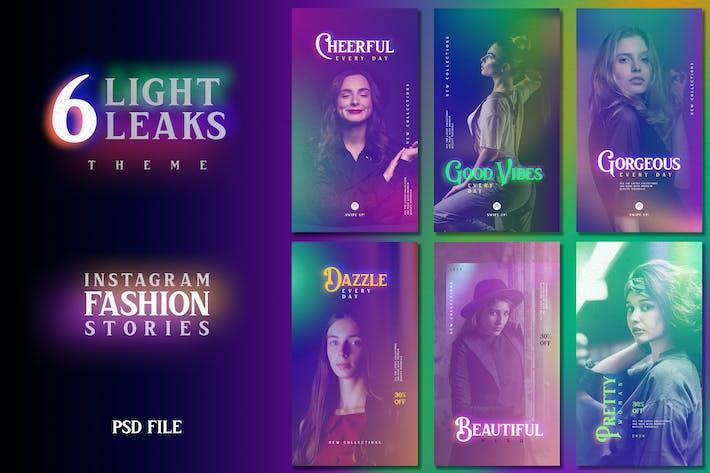 Thumbnail for Light Leaks Fashion Instagram Stories