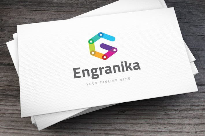 Thumbnail for Engranika Letter G Logo Template
