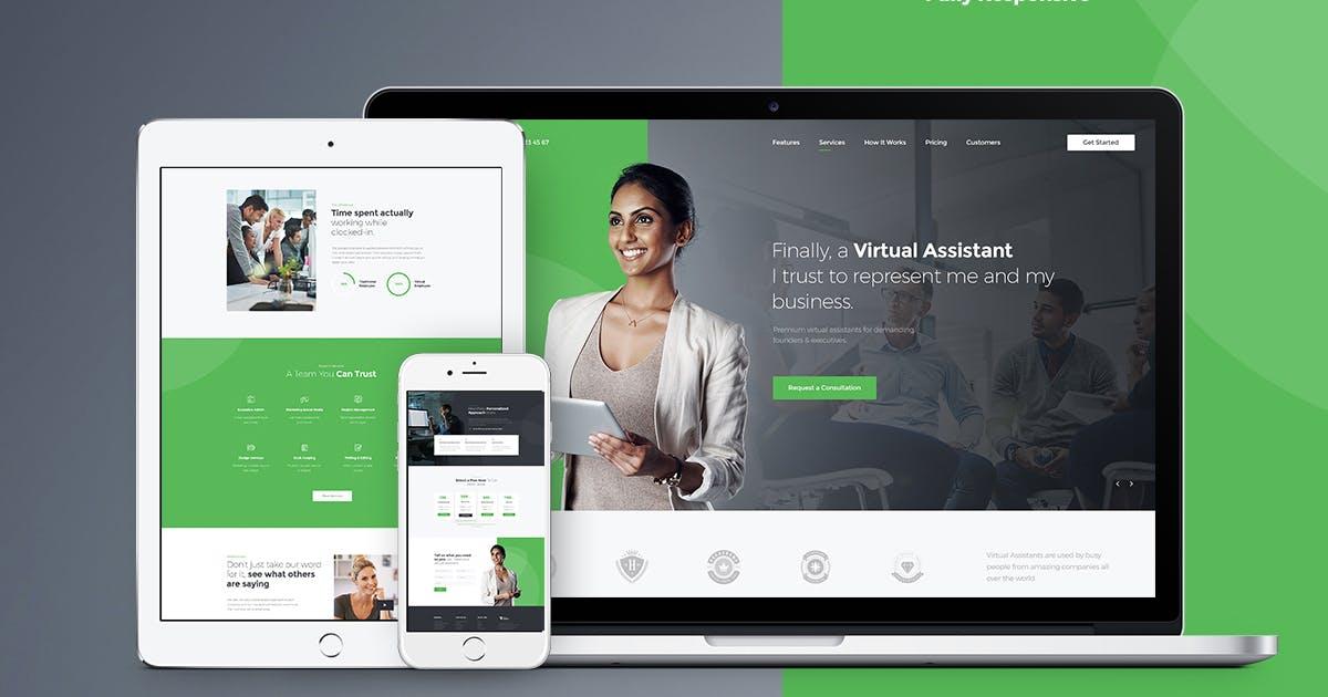 Download Revirta - Virtual Assistant WordPress Theme by AncoraThemes