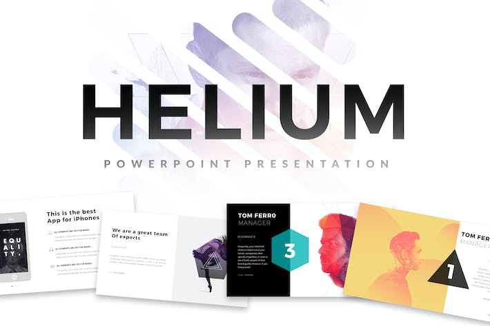 Thumbnail for Helium Minimal Powerpoint Template