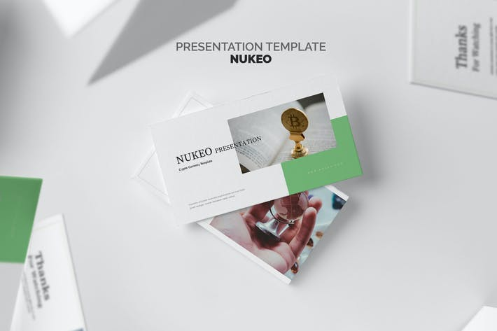 Thumbnail for Nukeo : Crypto Currency Powerpoint