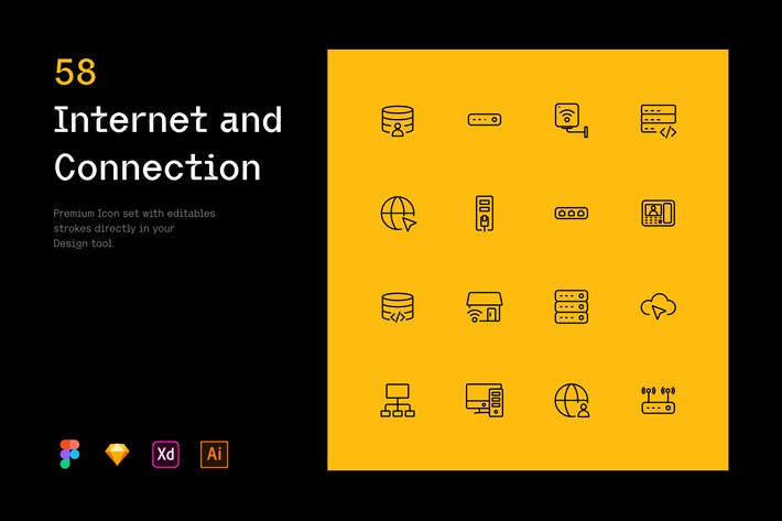 Internet and Connection - Iconuioo