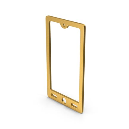 Symbol Smart Phone Gold