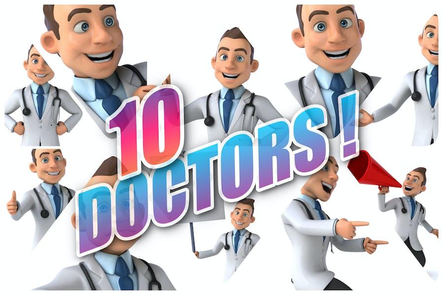 10 fun Doctors !